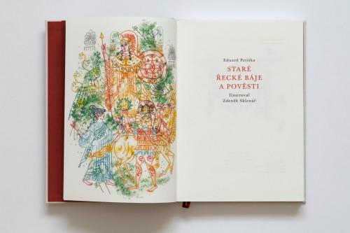 Eduard Petiška: Staré řecké báje a pověsti / Zdeněk Sklenář (plátěná vazba) | Bibliofilie | (4.12. 20 10:00:13)
