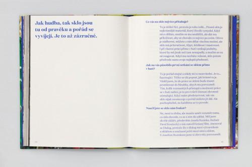 Petr Volf: Sklo nepočká – portrét jazzového skláře Reného Roubíčka | Krásné knihy | (15.12. 17 20:47:03)
