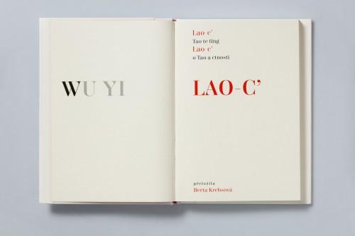 Lao-c´ – Tao te ťing / Wu Yi (serigrafie) | Český Laozi, Bibliofilie | (27.12. 17 13:05:20)