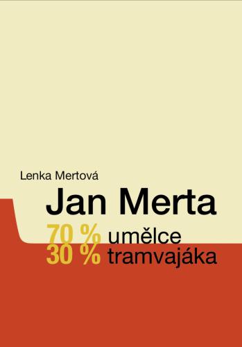 Novinka | NOVINKA: krásná kniha/Lenka Mertová: Jan Merta – 70 % umělce, 30 % tramvajáka (3.12. 18 16:00:36)