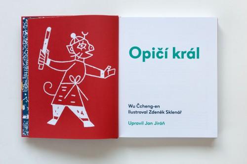 Jan Jiráň: Opičí král / Zdeněk Sklenář | Krásné knihy, Pro děti | (2.12. 17 22:01:14)