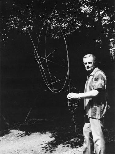Karel Malich / 70.léta 20.století /foto archiv autora