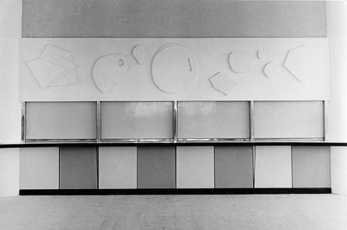 Reliéf / Jablonec nad Nisou / 70.léta 20.století / foto archiv autora