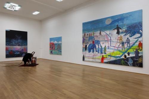 Výstava | Prague Power Boost – Kintera / Achrer / Číhal | 5. 2. –  19. 3. 2017 | (29.11. 17 16:36:57)