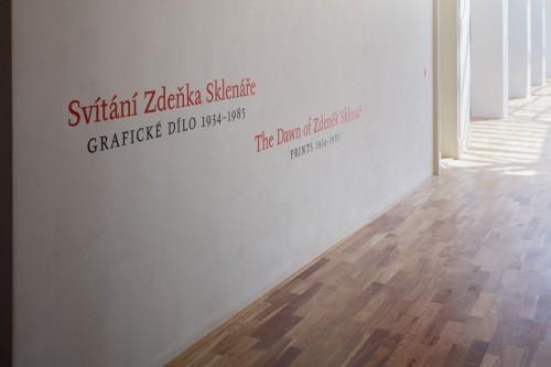 Exhibition | The Dawn of Zdeněk Sklenář: Prints 1934–1985 | 23. 6. –  24. 9. 2017 | (29.11. 17 16:51:43)