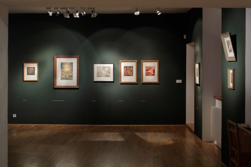 Exhibition | Josef Váchal: A Gift of 51 Originals from the Artist | 21. 9. –  9. 11. 2014 | (2.12. 17 21:38:48)