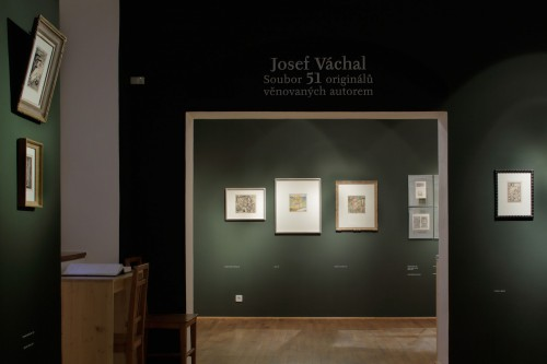 Výstava | Josef Váchal – Soubor 51 originálů věnovaných autorem | 21. 9. –  9. 11. 2014 | (2.12. 17 21:38:41)