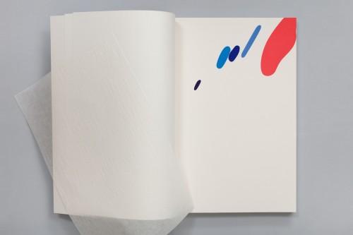 Karel Malich, Bez názvu, 2012, serigrafie, papír,45,5 × 30,5 cm