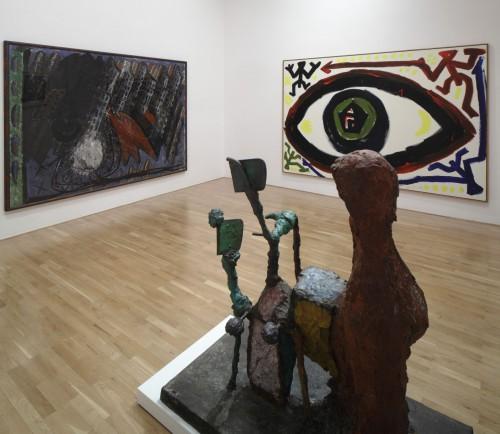 Výstava   Markus Lűpertz, A. R. Penck a jejich žák Lubomír Typlt (4.12. 17 07:40:03)