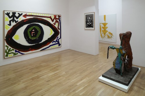 Výstava   Markus Lűpertz, A. R. Penck a jejich žák Lubomír Typlt (4.12. 17 07:40:07)