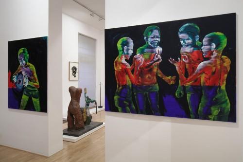 Výstava | Markus Lüpertz, A. R. Penck a jejich žák Lubomír Typlt | 1. 6. –  30. 7. 2011 | (4.12. 17 07:40:05)