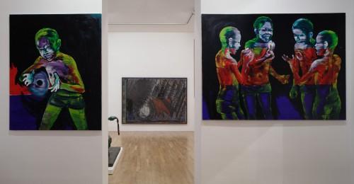 Výstava | Markus Lüpertz, A. R. Penck a jejich žák Lubomír Typlt | 1. 6. –  30. 7. 2011 | (4.12. 17 07:39:58)
