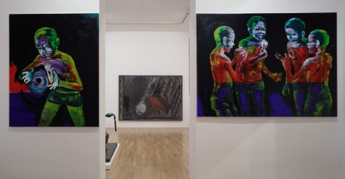 Výstava   Markus Lűpertz, A. R. Penck a jejich žák Lubomír Typlt (4.12. 17 07:39:58)
