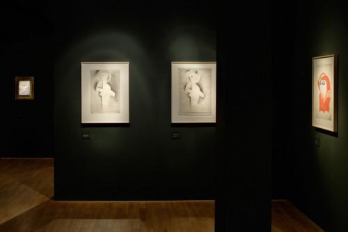 Výstava   Josef Čapek — Kresby 1913 —1916 (5.12. 17 06:44:12)