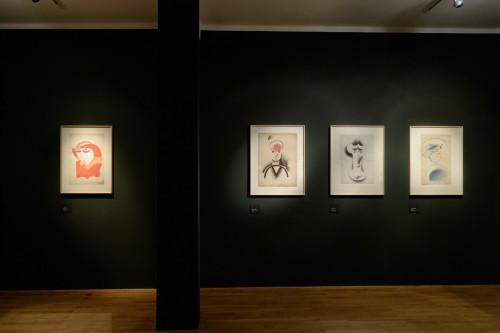 Výstava   Josef Čapek — Kresby 1913 —1916 (5.12. 17 06:44:08)