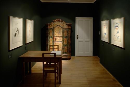 Výstava   Josef Čapek — Kresby 1913 —1916 (5.12. 17 06:44:13)