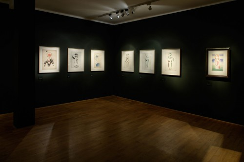 Výstava   Josef Čapek — Kresby 1913 —1916 (5.12. 17 06:44:06)