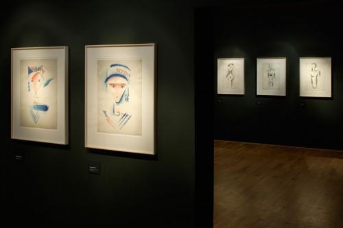 Výstava   Josef Čapek — Kresby 1913 —1916 (5.12. 17 06:44:09)