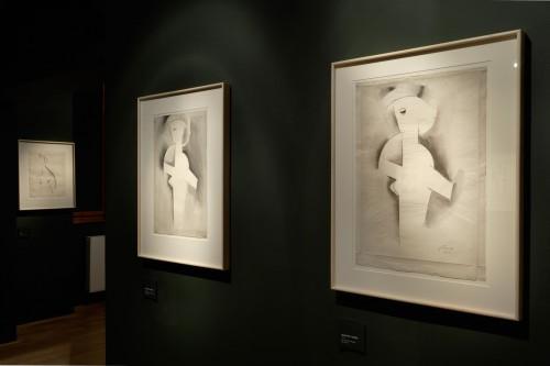 Výstava   Josef Čapek — Kresby 1913 —1916 (5.12. 17 06:44:16)