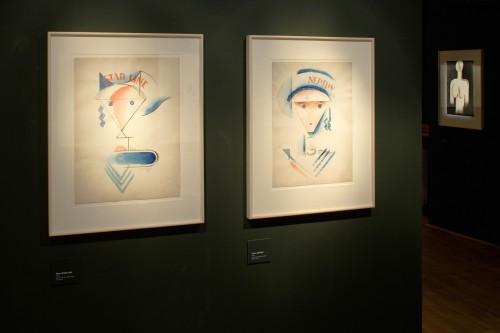 Výstava   Josef Čapek — Kresby 1913 —1916 (5.12. 17 06:44:10)