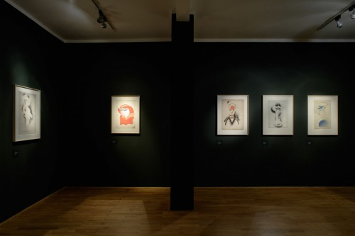 Exhibition | Josef Čapek: Drawings 1913–1916 | 18. 7. –  12. 9. 2009 | (5.12. 17 06:44:04)
