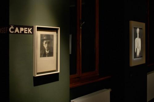 Výstava   Josef Čapek — Kresby 1913 —1916 (5.12. 17 06:44:15)