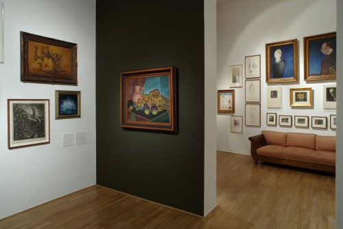 Exhibition | Remembering Otakar Štorch-Marien's Aventine Mansard | 7. 11. –  8. 12. 2007 | (8.12. 17 18:16:33)
