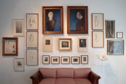 Výstava | Vzpomínka na Aventinskou mansardu Otakara Štorcha-Mariena | 7. 11. –  8. 12. 2007 | (8.12. 17 18:15:48)