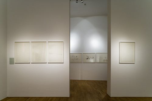 Exhibition | Milan Grygar: Acoustic Drawings and Scores | 1. 11. –  2. 12. 2006 | (8.12. 17 18:39:56)