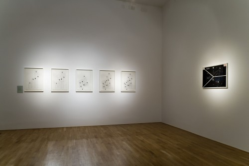 Exhibition | Milan Grygar: Acoustic Drawings and Scores | 1. 11. –  2. 12. 2006 | (8.12. 17 18:40:40)