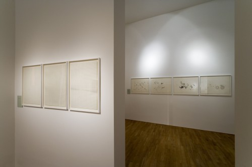 Exhibition | Milan Grygar: Acoustic Drawings and Scores | 1. 11. –  2. 12. 2006 | (8.12. 17 18:40:55)