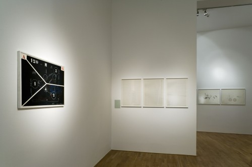 Exhibition | Milan Grygar: Acoustic Drawings and Scores | 1. 11. –  2. 12. 2006 | (8.12. 17 18:40:45)