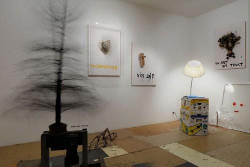 Výstava | Krištof Kintera – Jsem kus klacku natřenej na bílo | 9. 6. –  30. 9. 2018 | (12.10. 18 14:17:00)