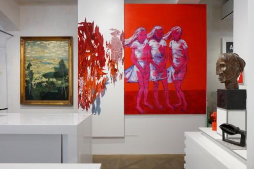 Výstava   Vrcholení – Nejvyšší polohy českého výtvarného umění   7. 5. –  7. 9. 2019   (8.10. 19 14:50:41)