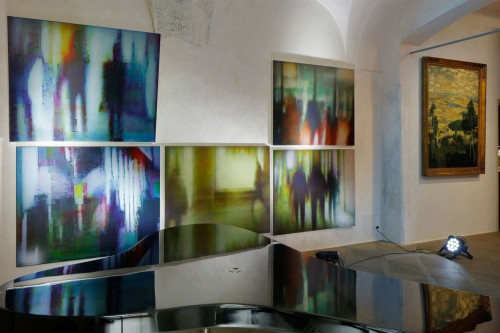 Exhibition | Divine Error: Data Paintings by Kamila B. Richter | 7. 5. –  7. 9. 2019 | (8.10. 19 14:26:56)