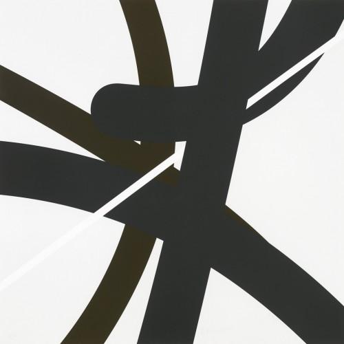 Zdeněk Sýkora, Let 2345, 2007, tříbarevná serigrafie, papír, 70 × 70 cm