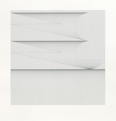 Vladimír Kopecký, Giving Thanks, 2012, serigraphy on paper 62 × 62 cm