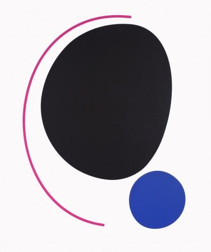 Karel Malich, Bez názvu, 2014, serigrafie, papír,120 × 100 cm
