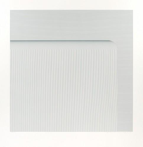 Vladimír Kopecký, Vodopád, 2012, serigrafie, papír, 80 × 80 cm