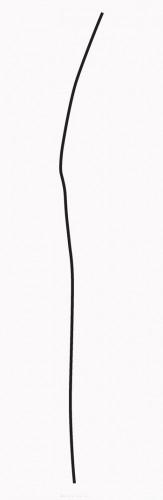 Karel Malich, Energy, 2014, serigraphy on paper,185 × 60 cm