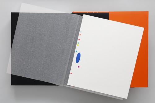 Karel Malich, Grafický list série III, 2006, serigrafie, papír, 30× 28 cm