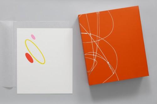 Karel Malich, Grafický list série II, 2006, serigrafie, papír, 30× 28 cm