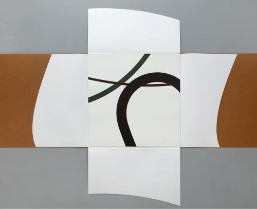 Zdeněk Sýkora, Létání, 2007,70 x 70 cm