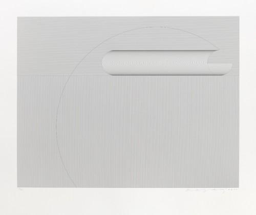 Vladimír Kopecký, Švih I, 2012, serigrafie, papír, 60 × 78 cm