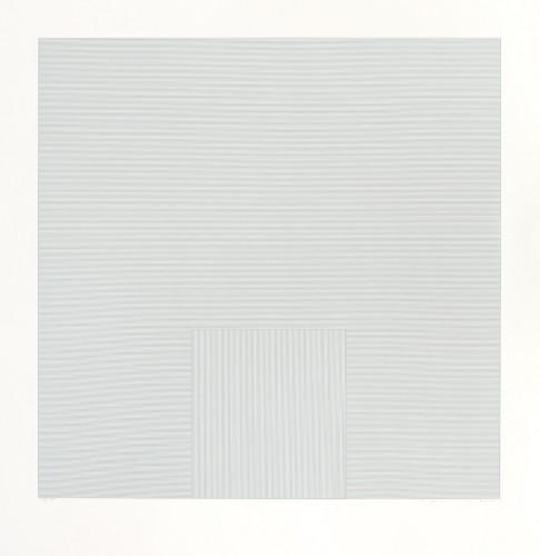 Vladimír Kopecký, Klid, 2012, serigrafie, papír, 80 × 80 cm