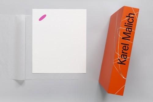 Karel Malich, Print, Series I, 2006, serigraph on paper, 30× 28 cm