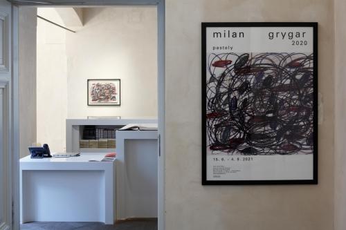 Výstava | Milan Grygar 2020 – Pastely | 15. 6. –  4. 9. 2021 | (22.7. 21 13:20:43)