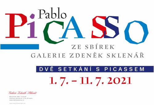 Výstava | Pablo Picasso ze sbírek Galerie Zdeněk Sklenář – Dvě setkání s Picassem | 1. 7. –  11. 7. 2021 | (2.7. 21 12:47:49)