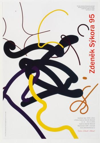 Zdeněk Sýkora at 95: Graphic Works 1993–2011, a Galerie Zdeněk Sklenář Special Edition | Posters | (28.12. 17 13:49:18)