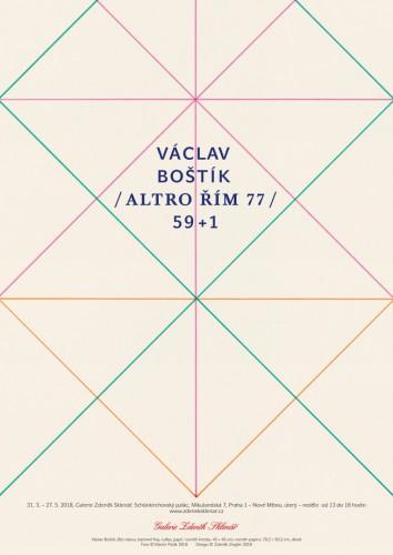VÁCLAV BOŠTÍK / ALTRO ROME '77 / 59 + 1 | Posters | (21.3. 18 10:56:17)